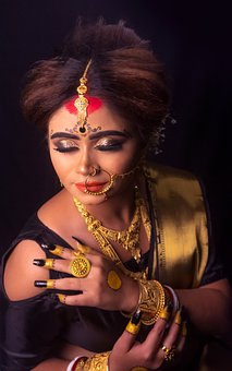 Wedding, Woman, Marriage, Girl, Female, Jewelry, India