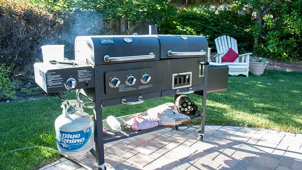 Grill, Backyard, Bbq, Summer, Party, Food, Garden