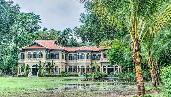 Phuket, Thailand, Architecture, Blue Elephant School
