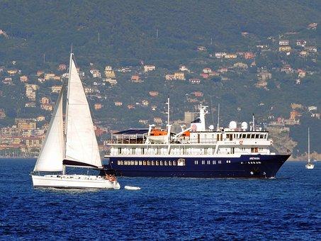 Boat, Vela, Ship, Sea, Porto Venere, Liguria, Italy
