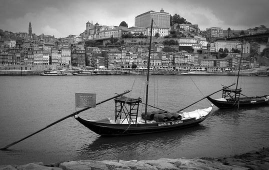 Porto, Portugal, Port, Port Wine, Boats