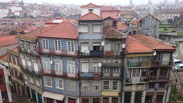 Portugal, Porto, Architecture, Europe, Flats, Urban