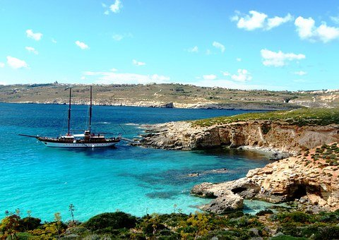 Comino, Malta, Travel, Island, Sea, Blue, Landscape