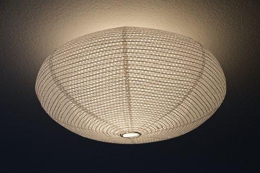 Ceiling Light, Lamp, Interior Lighting, Power Saving