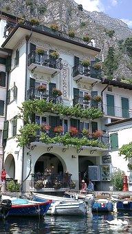 Garda, Limone Sul Garda, Porto Vecchio, Water, Port