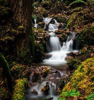 Waterfall, Long Exposure, Water, Nautre