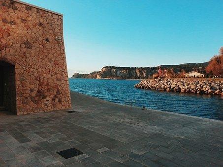 Marine Village, Porto, Sea, Village, Sky, Boats, Marina