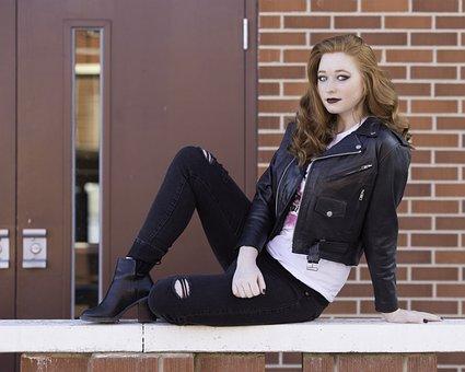 Senior Photography, Model, Portrait, Girl, Outside, Day