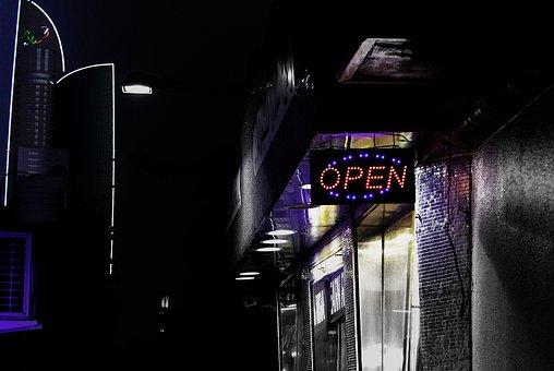 Street Photography, Dubai, Arab, City, Night