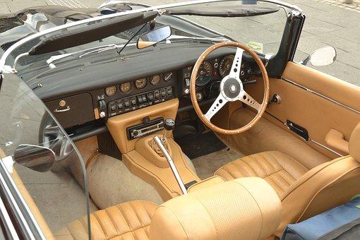 Vintage Car, Old Car, Jaguar V12, Old Jaguar