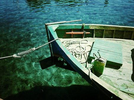 Boat, Sea-green, Pine Harbour, Transparent, Relaxation