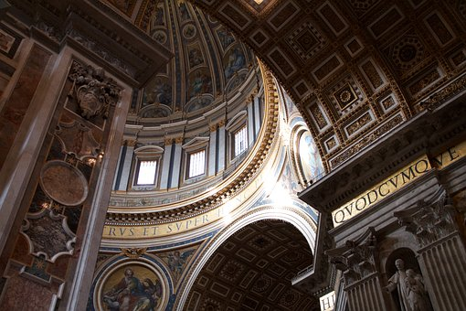 St Peter's Basilica, Rome, Vatican, St Peter's Square