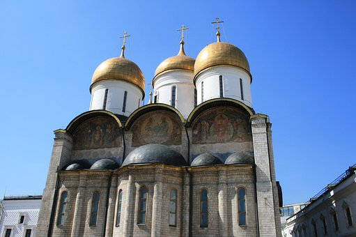 Church, Russian, Archetecture, Russian Orthodox