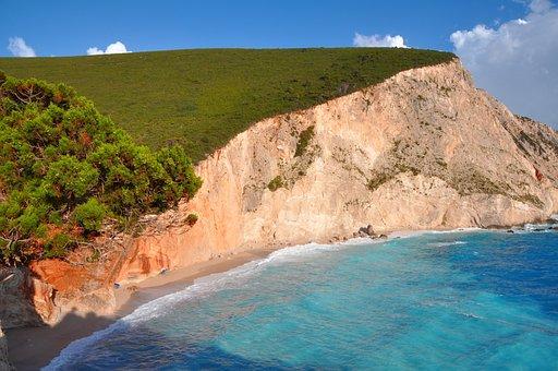 Beach, Booked, Sea, Nature, Landscape