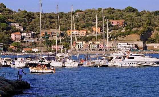 Boat, Vela, Sea, Water, Sailing Boat, Porto, House