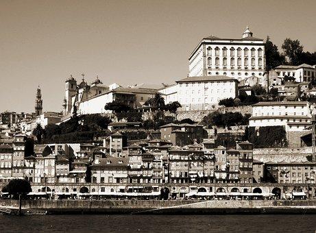 Porto, Portugal, Summer, City, Travel, Architecture
