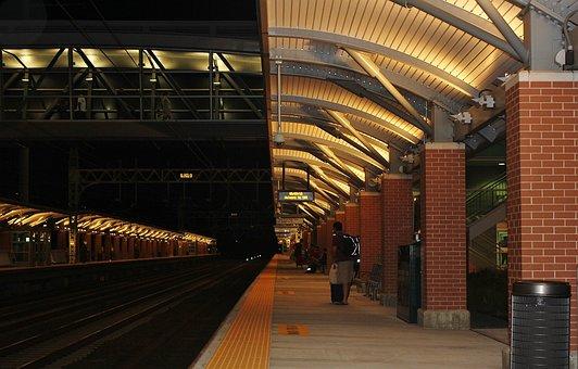 Train, Train Station, Railway, Transportation, Travel