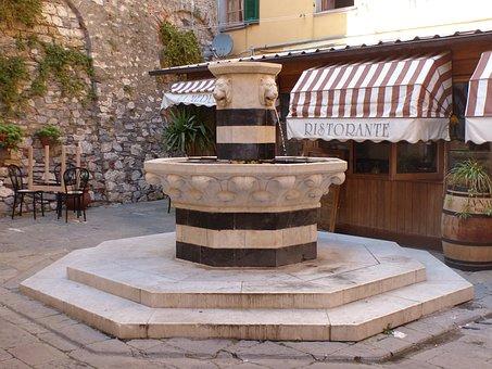 Porto Venere, Fountain, Tuscany