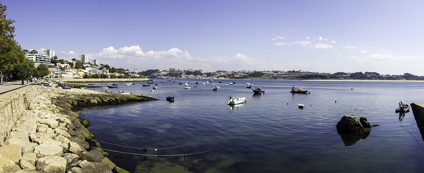 Porto, Sea, Portugal, Europe, Travel, Water