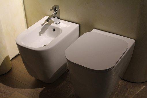 Sanitary Fittings, Wc, Bidet, Toilet, Vater, Hygiene
