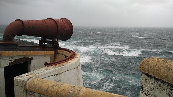 Ocean, Sea, Porto, Water, Landscape, Wind, Siren