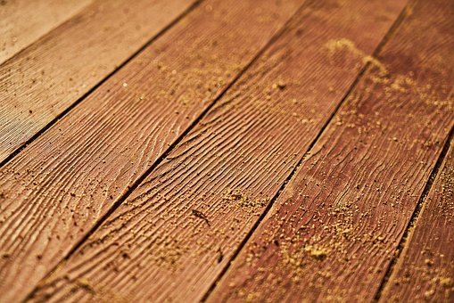 Wood-fibre Boards, Timber, Parquet, Old, Flooring, Wood