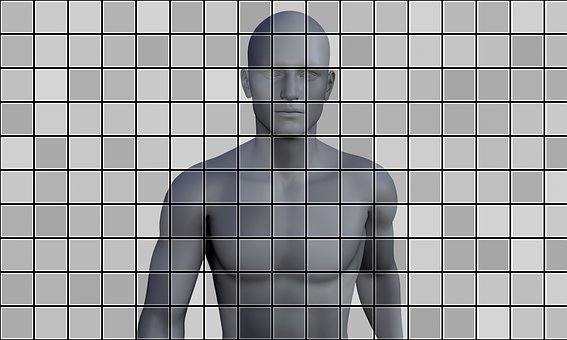Human, Tiles, Artificial Intelligence, Man, Technology