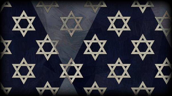 Star Of David, Magen David, David, Star, Background
