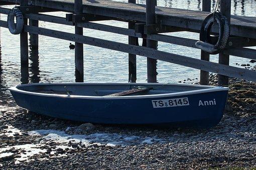 Boat, Pier, Boardwalk, Jetty, Beach, Coast, Shore