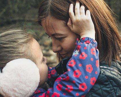 Mom, Toddler, Girl, Child, Love, Relationship