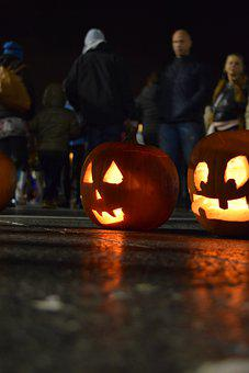 Pumpkins, Lantern, Jack-o-lantern, Halloween, Autumn