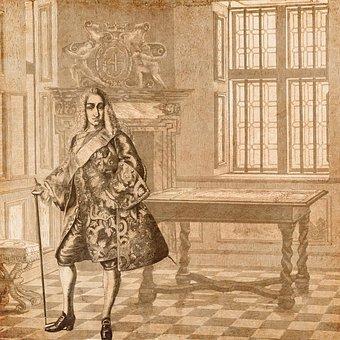 King, Clothing, Vintage, Denmark, History, Background