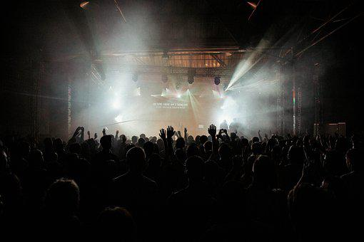Concert, Festival, Crowd, People, Stage Performance