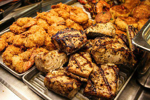 Chicken, Beef, Fried, Roasted, Flame, Grilled, Cook