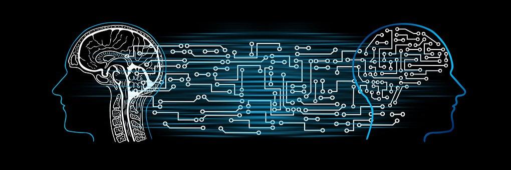 Artificial Intelligence, Brain, Board, Circuit