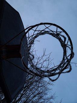 Net, Basketball Net, Outdoors, Sport, Basketball