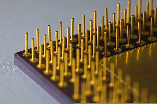 Microchip, Chip, Processor, Integrated, Electronics