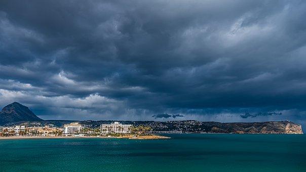 Sea, Costa, Sky, Holiday, Cloud, Beach, Building