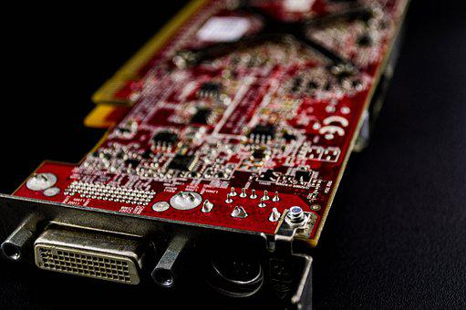 Card, Circuit, Electronics, Chips, Processor, Repair