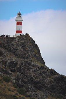 Lighthouse, Light Tower, Coast Guard, Coastline, Sea