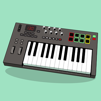 Pianist, Midi, Synthesizer, Classic, Acoustic, Button