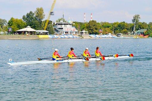 Canoe, Rowing, Women, Athletes, Gym, Workout, Fitness