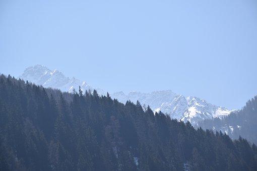 Mountain, Landscape, Mountains, Nature, Sky, Snow