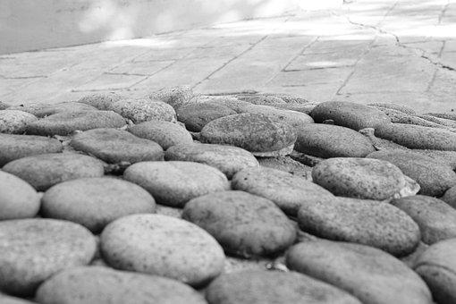 Stones, Street, Pavement, Material, Texture