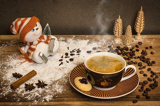 Coffee, Winter, Deco, Snowman, Coffee Cup, Hot