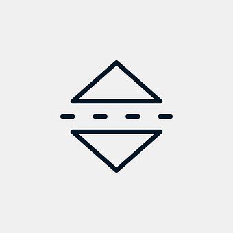 Mirror, Horizontal, Icon, Reflection, Button, Symbol