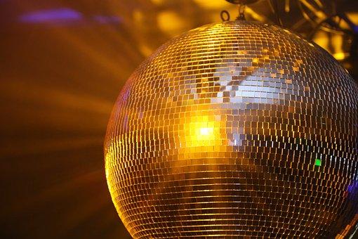 Disco, Disco Ball, Party, Dance, Glitter Ball, Club