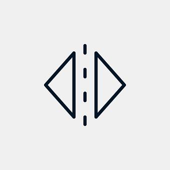 Mirror, Vertical, Icon, Reflection, Button, Symbol
