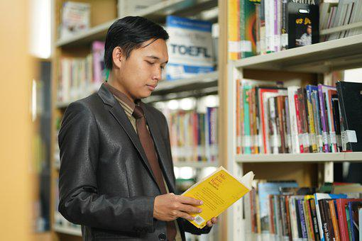 Islamic, Student, Library, Education, E-learning, Learn