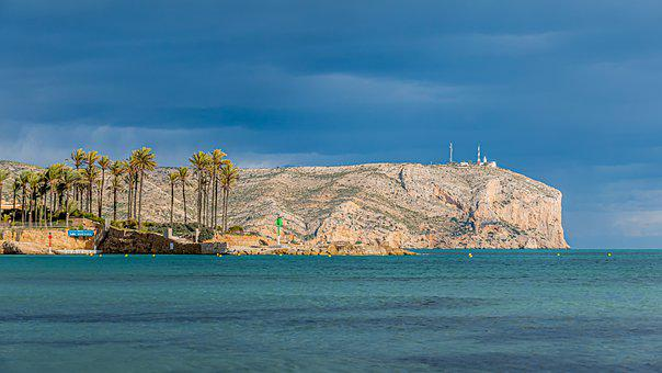 Ocean, Sea, Coast, Sky, Holiday, Cloud, Rocks, Marina